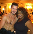 Sherri and Val Chmerkovskiy