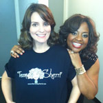 Sherri and Tina Fey