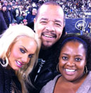 Sherri with Ice T and Coco!