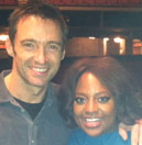 Sherri and Hugh Jackman!