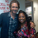 Sherri and Gerard Butler