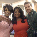 Niecy Nash and Louie Van Amstel
