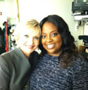 Sherri and Florence Henderson